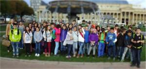 Musicalklasse auf dem Schloßplatz Ba Homepage